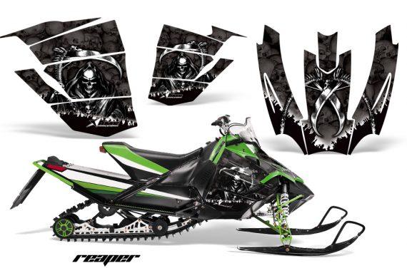 Arctic Cat Sno Pro AMR Graphics Kit Reaper B 2 570x376 - Arctic Cat Sno Pro Race 500 600 Graphics
