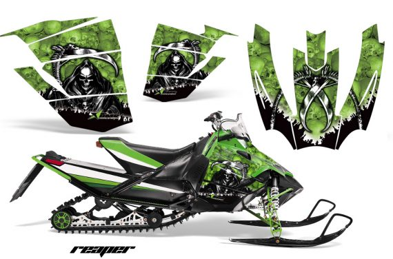 Arctic Cat Sno Pro AMR Graphics Kit Reaper G 2 570x376 - Arctic Cat Sno Pro Race 500 600 Graphics