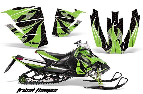 Arctic Cat Sno Pro AMR Graphics Kit TFlames GB 2 570x376 - Arctic Cat Sno Pro Race 500 600 Graphics