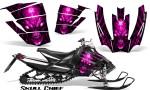 Arctic Cat SnoPro Race CreatorX Graphics Kit Skull Chief Pink 150x90 - Arctic Cat Sno Pro Race 500 600 Graphics
