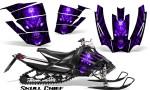 Arctic Cat SnoPro Race CreatorX Graphics Kit Skull Chief Purple 150x90 - Arctic Cat Sno Pro Race 500 600 Graphics
