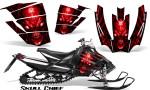 Arctic Cat SnoPro Race CreatorX Graphics Kit Skull Chief Red 150x90 - Arctic Cat Sno Pro Race 500 600 Graphics