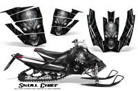 Arctic-Cat-SnoPro-Race-CreatorX-Graphics-Kit-Skull-Chief-Silver