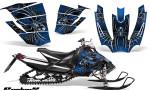 Arctic Cat SnoPro Race CreatorX Graphics Kit SpiderX Blue 150x90 - Arctic Cat Sno Pro Race 500 600 Graphics