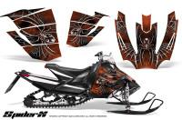 Arctic-Cat-SnoPro-Race-CreatorX-Graphics-Kit-SpiderX-Orange-Dark