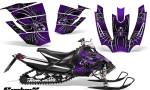 Arctic Cat SnoPro Race CreatorX Graphics Kit SpiderX Purple 150x90 - Arctic Cat Sno Pro Race 500 600 Graphics