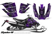 Arctic-Cat-SnoPro-Race-CreatorX-Graphics-Kit-SpiderX-Purple