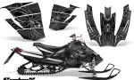 Arctic Cat SnoPro Race CreatorX Graphics Kit SpiderX Silver 150x90 - Arctic Cat Sno Pro Race 500 600 Graphics