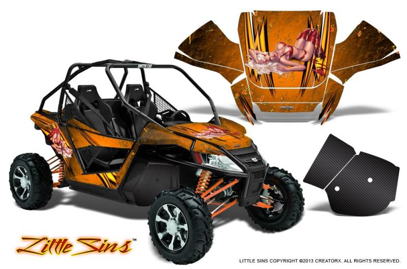 Arctic-Cat-Wildcat-CreatorX-Graphics-Kit-Little-Sins-Orange
