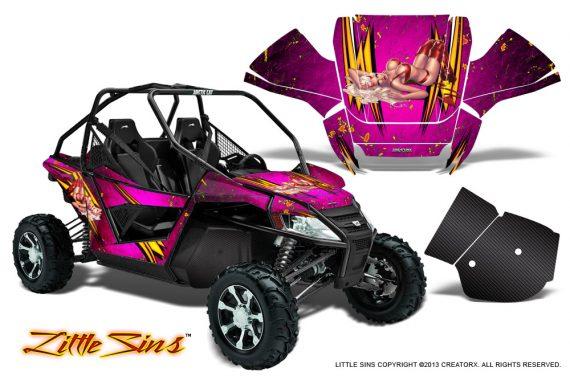 Arctic Cat Wildcat CreatorX Graphics Kit Little Sins Pink 570x376 - Arctic Cat Wildcat EPS 2012-2015 Graphics