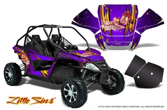Arctic Cat Wildcat CreatorX Graphics Kit Little Sins Purple 570x376 - Arctic Cat Wildcat EPS 2012-2015 Graphics