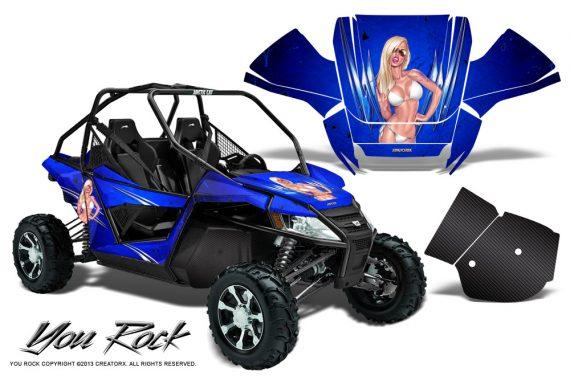 Arctic Cat Wildcat CreatorX Graphics Kit You Rock Blue 570x376 - Arctic Cat Wildcat EPS 2012-2015 Graphics