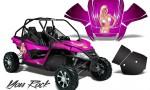 Arctic Cat Wildcat CreatorX Graphics Kit You Rock Pink 150x90 - Arctic Cat Wildcat EPS 2012-2015 Graphics