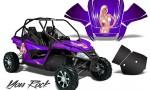 Arctic Cat Wildcat CreatorX Graphics Kit You Rock Purple 150x90 - Arctic Cat Wildcat EPS 2012-2015 Graphics