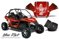 Arctic-Cat-Wildcat-CreatorX-Graphics-Kit-You-Rock-Red