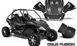 Arctic Cat Wildcat Graphics Kit Cold Fusion Black 150x90 - Arctic Cat Wildcat EPS 2012-2015 Graphics