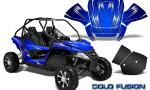 Arctic Cat Wildcat Graphics Kit Cold Fusion Blue 150x90 - Arctic Cat Wildcat EPS 2012-2015 Graphics