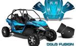Arctic Cat Wildcat Graphics Kit Cold Fusion BlueIce 150x90 - Arctic Cat Wildcat EPS 2012-2015 Graphics