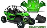 Arctic Cat Wildcat Graphics Kit Cold Fusion Green 150x90 - Arctic Cat Wildcat EPS 2012-2015 Graphics