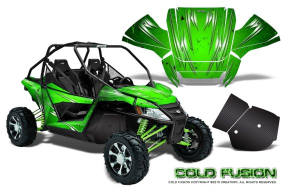 Arctic-Cat-Wildcat-Graphics-Kit-Cold-Fusion-Green