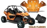 Arctic Cat Wildcat Graphics Kit Cold Fusion Orange 150x90 - Arctic Cat Wildcat EPS 2012-2015 Graphics
