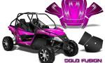 Arctic Cat Wildcat Graphics Kit Cold Fusion Pink 150x90 - Arctic Cat Wildcat EPS 2012-2015 Graphics