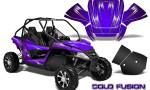 Arctic Cat Wildcat Graphics Kit Cold Fusion Purple 150x90 - Arctic Cat Wildcat EPS 2012-2015 Graphics