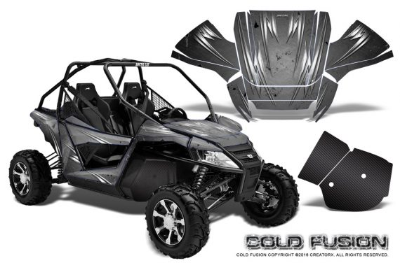 Arctic-Cat-Wildcat-Graphics-Kit-Cold-Fusion-Silver