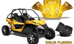 Arctic Cat Wildcat Graphics Kit Cold Fusion Yellow 150x90 - Arctic Cat Wildcat EPS 2012-2015 Graphics
