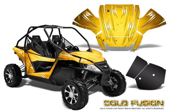 Arctic-Cat-Wildcat-Graphics-Kit-Cold-Fusion-Yellow