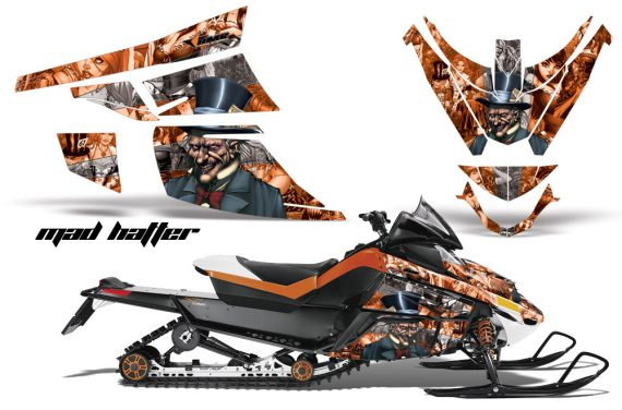 Arctic Cat Z1 Turbo 06 12 AMR Graphics Kit Mad Hatter OS 570x376 - Arctic Cat Z1 Turbo 2006-2012 Graphics