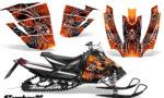 Arctic Cat SnoPro Race CreatorX Graphics Kit SpiderX Orange 150x90 - Arctic Cat Sno Pro Race 500 600 Graphics
