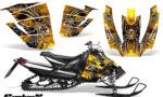 Arctic Cat SnoPro Race CreatorX Graphics Kit SpiderX Yellow 150x90 - Arctic Cat Sno Pro Race 500 600 Graphics