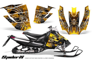 Arctic Cat SnoPro Race CreatorX Graphics Kit SpiderX Yellow 320x211 - Arctic Cat Sno Pro Race 500 600 Graphics