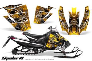 Arctic Cat SnoPro Race CreatorX Graphics Kit SpiderX Yellow 320x211 - Arctic Cat Sno Pro Race 500 600 Graphics