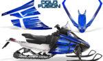 Arctic Cat F Series CreatorX Graphics Kit Cold Fusion Blue 150x90 - Arctic Cat F Series F Series Z1 Bearcat 2000 Lynx Graphics