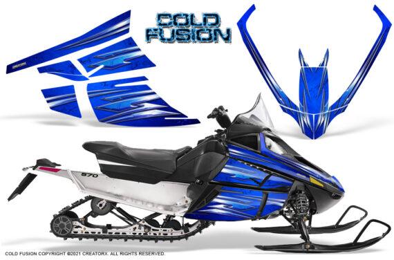 Arctic Cat F Series CreatorX Graphics Kit Cold Fusion Blue 570x376 - Arctic Cat F Series F Series Z1 Bearcat 2000 Lynx Graphics