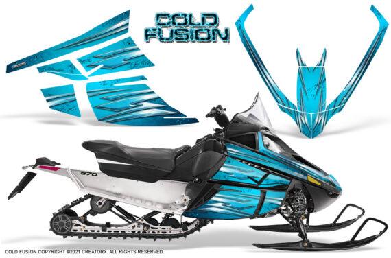 Arctic Cat F Series CreatorX Graphics Kit Cold Fusion BlueIce 570x376 - Arctic Cat F Series F Series Z1 Bearcat 2000 Lynx Graphics
