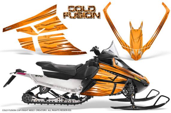 Arctic Cat F Series CreatorX Graphics Kit Cold Fusion Orange 570x376 - Arctic Cat F Series F Series Z1 Bearcat 2000 Lynx Graphics
