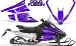 Arctic Cat F Series CreatorX Graphics Kit Cold Fusion Purple 150x90 - Arctic Cat F Series F Series Z1 Bearcat 2000 Lynx Graphics