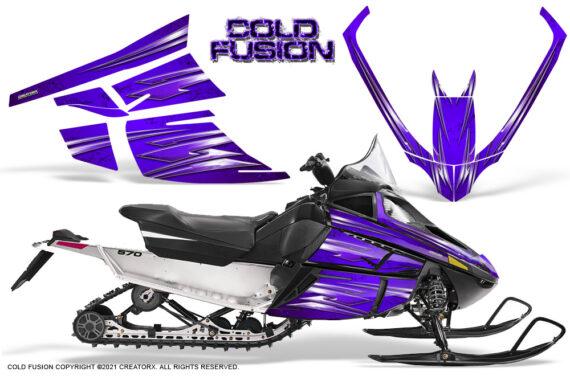 Arctic Cat F Series CreatorX Graphics Kit Cold Fusion Purple 570x376 - Arctic Cat F Series F Series Z1 Bearcat 2000 Lynx Graphics
