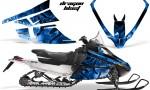 Arctic Cat F Series Graphics Kit Dragonblast Blue 150x90 - Arctic Cat F Series F Series Z1 Bearcat 2000 Lynx Graphics