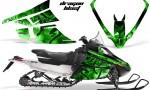 Arctic Cat F Series Graphics Kit Dragonblast Green 150x90 - Arctic Cat F Series F Series Z1 Bearcat 2000 Lynx Graphics