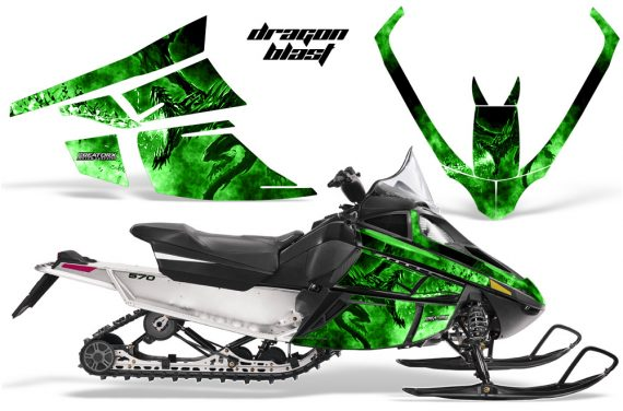 Arctic_Cat_F_Series_Graphics_Kit_Dragonblast_Green