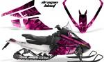 Arctic Cat F Series Graphics Kit Dragonblast Pink 150x90 - Arctic Cat F Series F Series Z1 Bearcat 2000 Lynx Graphics