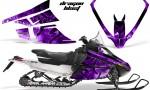 Arctic Cat F Series Graphics Kit Dragonblast Purple 150x90 - Arctic Cat F Series F Series Z1 Bearcat 2000 Lynx Graphics