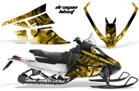 Arctic_Cat_F_Series_Graphics_Kit_Dragonblast_Yellow