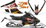 Arctic Cat F Series Graphics Kit Little Sins Black 150x90 - Arctic Cat F Series F Series Z1 Bearcat 2000 Lynx Graphics