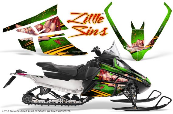 Arctic_Cat_F_Series_Graphics_Kit_Little_Sins_Green