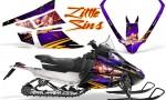 Arctic Cat F Series Graphics Kit Little Sins Purple 150x90 - Arctic Cat F Series F Series Z1 Bearcat 2000 Lynx Graphics